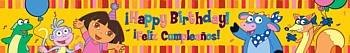Dora the Explorer Birthday Banner