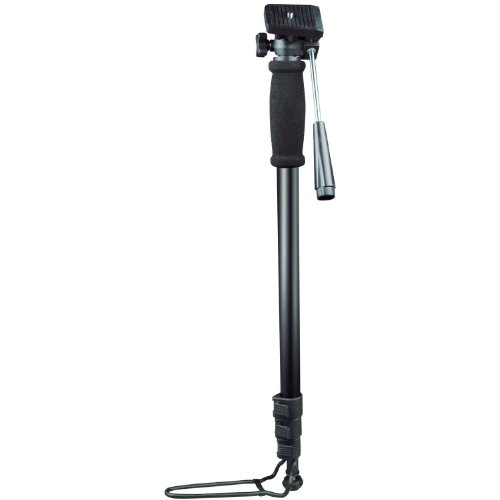 Ex-Pro Professional Aluminium Camera Monopod / Footrest / Bag (Suitable for Nikon Coolpix, Canon, Casio Exilim, Fuji Finepix, Kodak Easyshare, Panasonic Lumix, Olympus, Pentax Optio, Samsung Digimax, Sony Cyber-shot / Alpha & more)