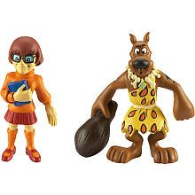 Scooby-Doo Mystery Mates Stone Age Scooby & Velma Mini Figure 2-Pack - 1