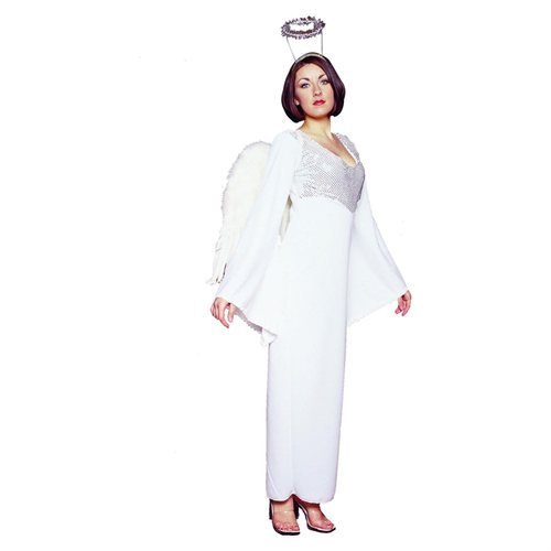 Heavenly Angel Sequined Adult Costume Size Standard