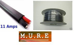 12v-24v-automotive-30m-reel-11-amp-2-core-flat-twin-thin-wall-car-cable-wire