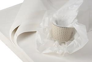 3 kg weiße Juwelierseide 50 x 75cm, Farbe: weiß, holzfrei Packseide Seidenpapier Geschirrpapier