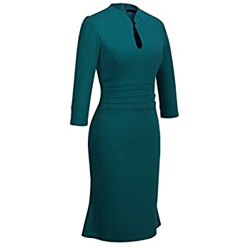 Homeyee® Women's Celebrity Vintage Puff Tunic Prom Dress U823