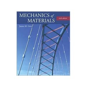 Mechanics of Materials (with CD-ROM and InfoTrac) 6th (sixth) edition Text Only
