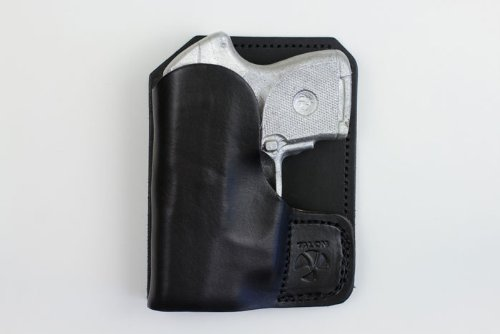 Talon Wallet Holster for Ruger LCP/KelTec P3AT with Laser - Black