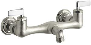 KOHLER K-8924-RP Knoxford Service Sink Faucet, Rough Plate