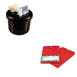 KITLEE40100QUA38734 - Value Kit - Quality Park Fashion Color Clasp Envelope (QUA38734) and Lee Ultimate Stamp Dispenser (LEE40100)