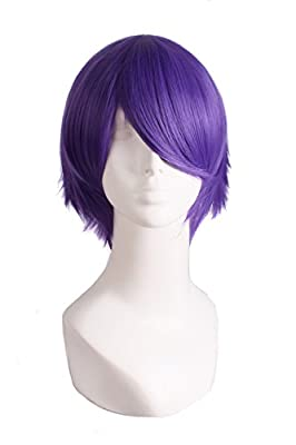 MapofBeauty Men's Short Straight Wig Cosplay Costume Wig