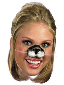 Disguise Costumes Black Cat Nose, Child - 1