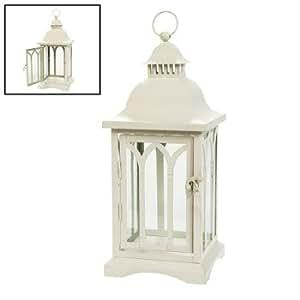 Traditional white lantern decorative candle Home decor lanterns