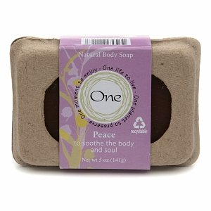 One Natural Body Soap, Peace, 5 oz
