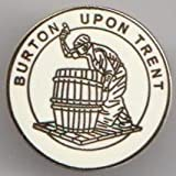 Burton upon Trent Staffordshire Town Crest Pin Badge