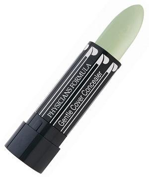 Physicians Formula Gentle Cover Concealer Stick, Cover Green, 0.15 Ounce