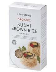 Clearspring - Organic Japanese Sushi Brown Rice - 500g (Brown Rice Sushi compare prices)