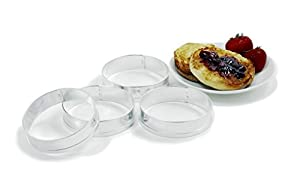 Norpro 3775 Egg Muffin Pancake Egg Rings Set of 4