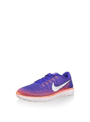 Nike Zapatillas Free RN Distance (Morado / Salmón / Blanco)