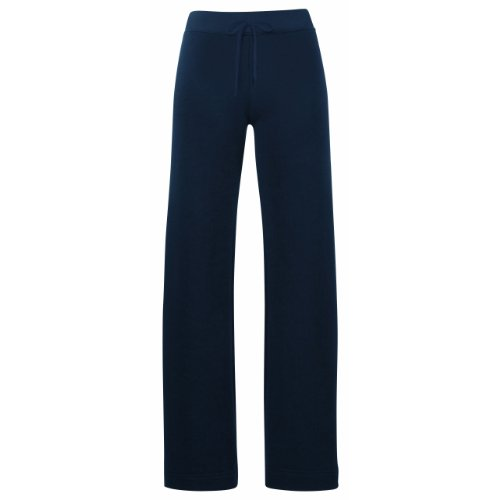 Fruit of the Loom -  Pantaloni sportivi  - Donna Blu Blu navy