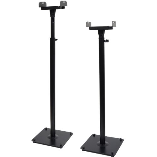 Videosecu 2 Heavy Duty Pa Dj Club Adjustable Satellite Speaker Stand Ms07B M99