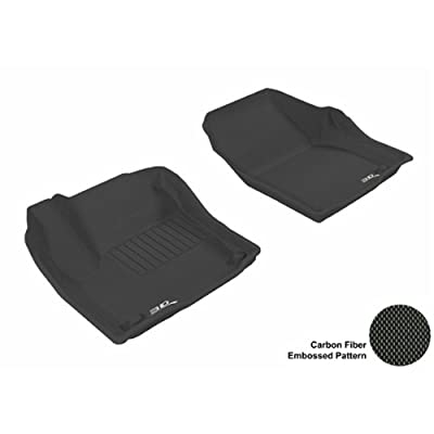 10-11 2 Clip FORD S MAX RUBBER DRIVERS FLOOR CAR MAT TAILORED