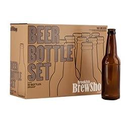 Brooklyn Brew Shop Amber Bottles ACBBS , Set of 10