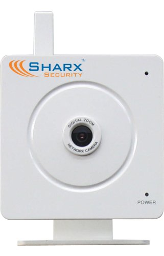 Sharx Security VIPcella SCNC2606 Wifi Wireless 802.11g Security Network Camera