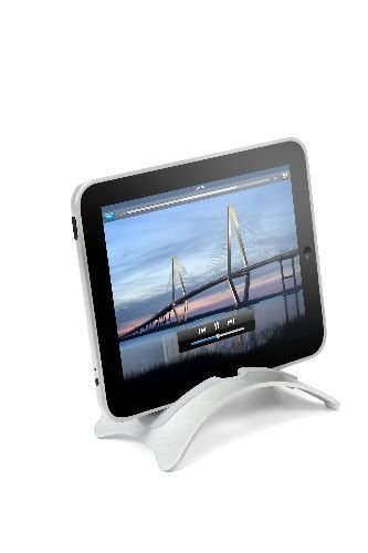 Twelve South BookArc Vertical Laptop Stand for iPad/iPad 2 - Silver (12-1011)