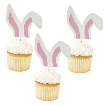Bunny Ears Picks - Easter & Party Supplies
