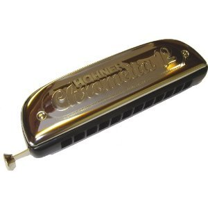 Hohner Chrometta 12 Chromatic Harmonica - Ideal for Classical, Jazz, Blues etc
