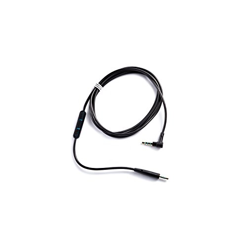 Bose discount duty free Bose Quiet Comfort 25 Headphones Inline Mic/Remote Cable for Apple devices - Black