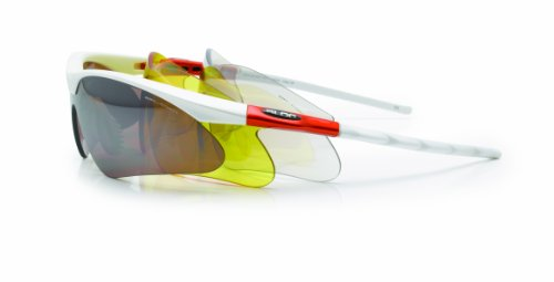 Bloc Eyewear Leopard Sports Sunglasses - MAT PEARL