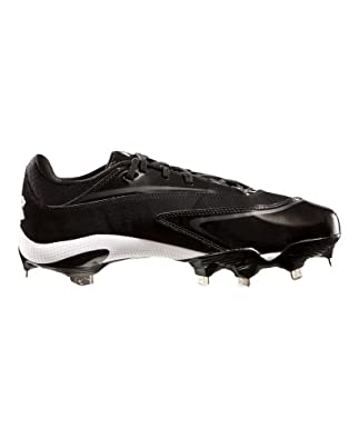 Under Armour Men's UA Natural III Low-Cut Baseball Cleats 11 Black