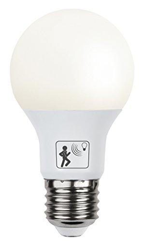 STAR 357-09A-Lampadina LED, 60W, E27, plastica, trasparente