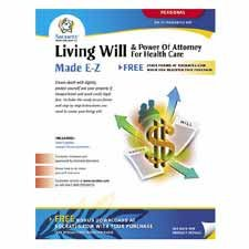 Socrates Media, LLC Products - Living Will/Power of Attorney For Health Care Kit - Sold as 1 KT - Make sure your choices are known if injuries occur with the Living Will/Power of Attorney kit. The Living Will kit allows you to express your choice of when to discontinue treatment and life support and who should make that decision for you if you're permanently incapacitated. Includes instructional guide and 14 forms.