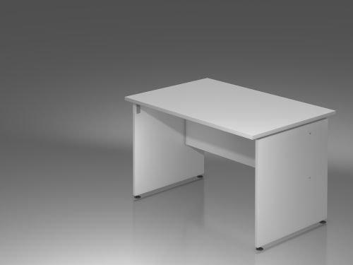 Scrivania W-serie dimensioni: 75 cm H x 120 cm L x 80 cm P, colore: grigio