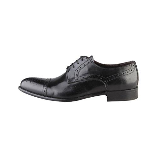 Made In Italia Giorgio, Scarpe stringate uomo nero Size: EU 43