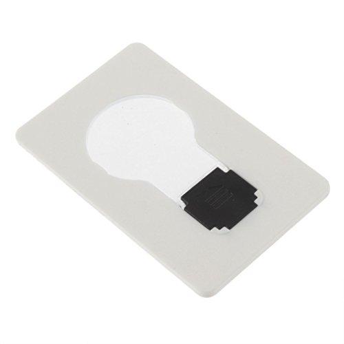 Sonline Luce LED lampada carta portatile tascabile in portafoglio borsetta