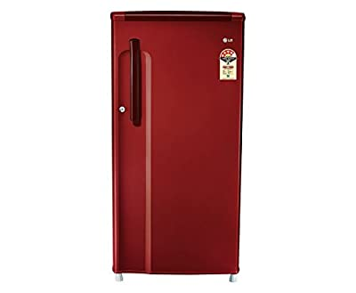LG GL-B205KRLL Direct-cool Single-door Refrigerator (190 Ltrs, 4 Star Rating, Ruby Luster)