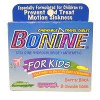 Bonine for Kids Motion Sickness Tablets Berry Berry
