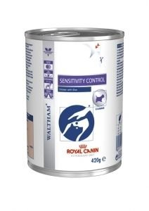 Royal Canin Veterinary Diet Dog Sensitivity Control au poulet 12x420g