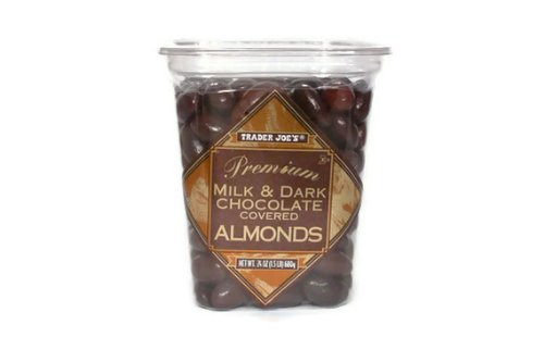 Trader Joe&#8217;s Premium Milk and Dark Chocolate Almonds 1.5 lbs.