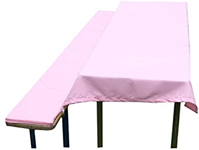Bierbankauflage rosa für Prinzessinnen Mädchen Kindergeburtstag pink von FTS Exclusiv - Gartenmöbel von Du und Dein Garten