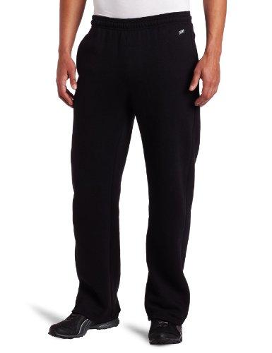 MJ Soffe Men's Training Fleece Pocket Pant, Black, Large