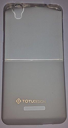NBD Totu Design Soft Back Cover for Micromax Yu Yureka (Half Transparent)