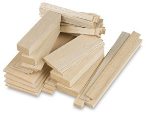 Midwest Products Genuine Balsa Wood - 3/16x3x36, Balsa Wood Sheets
