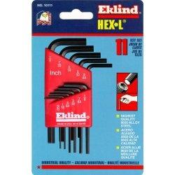 Eklind 10111 Hex-L Key Set 0 050-Inch to 1 4-InchShort 11-PieceB0000CBJE4 : image
