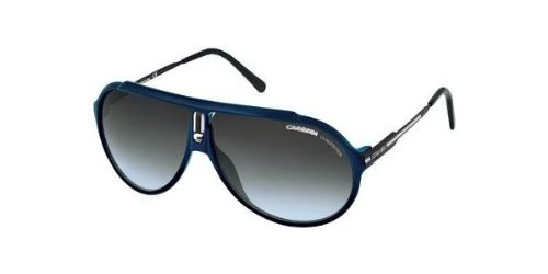 Carrera Unisex Endurance/T Blue / Black Frame/Grey Gradient Lens Metal/Plastic Sunglasses
