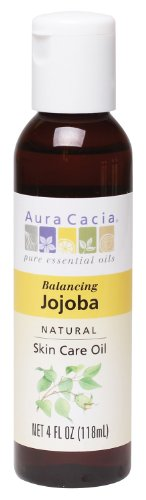 Aura Cacia Natural Skin Care Oil, Balancing Jojoba, 4 Fluid Ounce