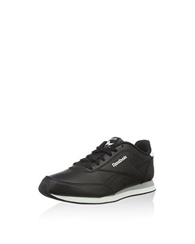 Reebok Zapatillas Royal CL Jog 2L Negro / Blanco / Gris