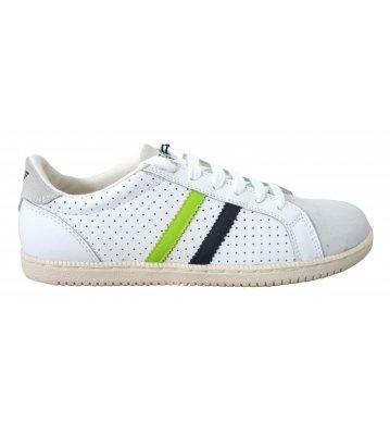 Sneakers Armani Jeans Uomo Pelle Bianco A65202210 Bianco 41EU