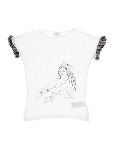 Mek T-Shirt Manica Corta Bimba [Bianco]